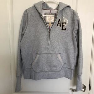 🔥American Eagle Hoodie Girl's Large Women's Small